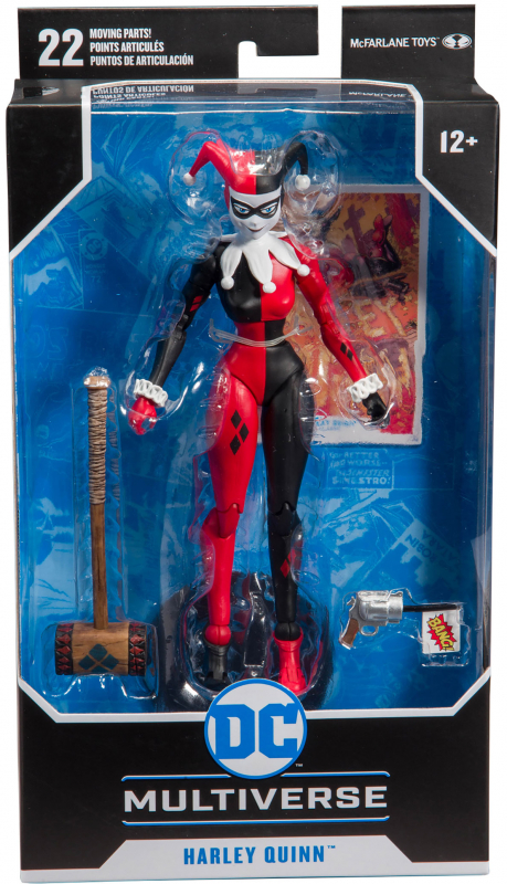 Wholesalers of Dc 7 Inch W1 - Harley Quinn toys