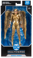 Wholesalers of Dc 7 Inch W2 - Wonder Woman Gold toys image