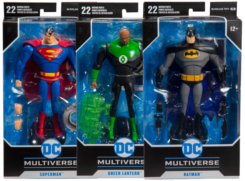 Wholesalers of Dc Animated 7 Inch Figure Asst W1 toys