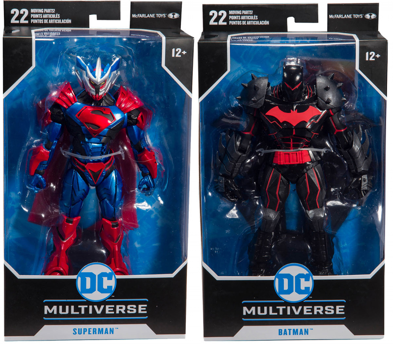 Wholesalers of Dc Armored 7 Inch Figure Asst W1 toys