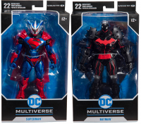 Wholesalers of Dc Armored 7 Inch Figure Asst W1 toys Tmb