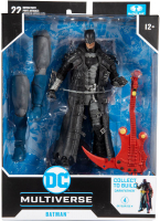 Wholesalers of Dc Build-a 7in Figures Wv4 - Death Metal - Batman 2 toys image