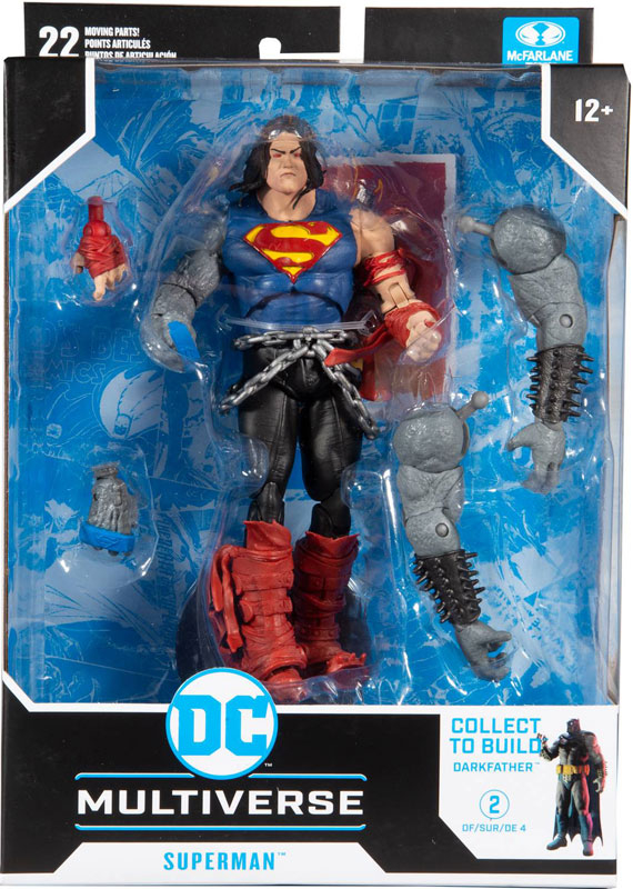 Wholesalers of Dc Build-a 7in Figures Wv4 - Death Metal - Superman toys