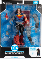 Wholesalers of Dc Build-a 7in Figures Wv4 - Death Metal - Superman toys image