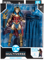 Wholesalers of Dc Build-a 7in Figures Wv4 - Death Metal - Wonder Woman toys image