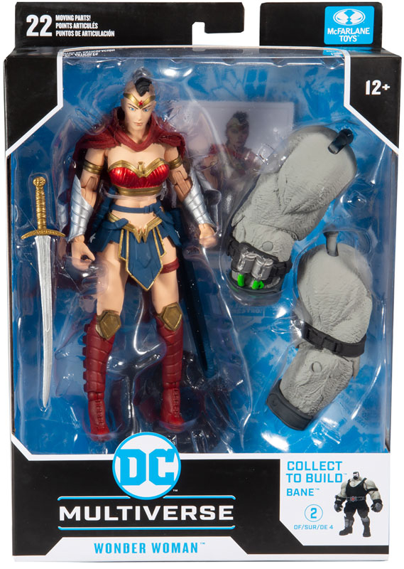 Wholesalers of Dc Build-a Wv3 - Last Night On Earth - Wonder Woman toys