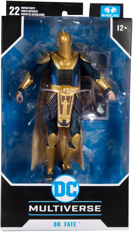 Wholesalers of Dc Gaming 7in Figures Wv4 - Dr. Fate toys