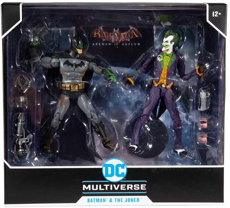Wholesalers of Dc Gaming Multipack - Arkham Batman Vs Arkham Joker toys