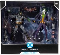 Wholesalers of Dc Gaming Multipack - Arkham Batman Vs Arkham Joker toys image