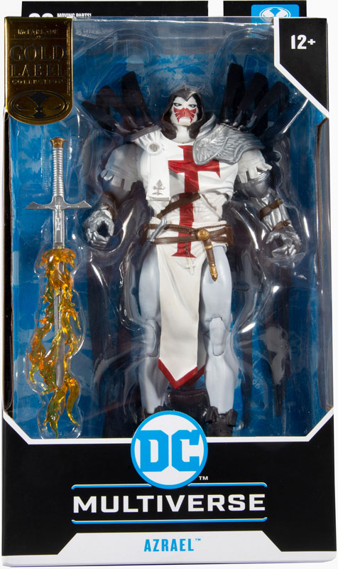 Wholesalers of Dc Multiverse 7in - Azrael White Templar toys