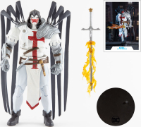 Wholesalers of Dc Multiverse 7in - Azrael White Templar toys image 2
