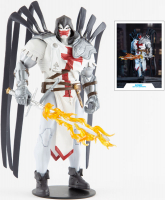 Wholesalers of Dc Multiverse 7in - Azrael White Templar toys image 3