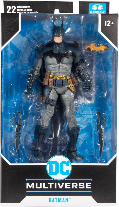 Wholesalers of Dc Multiverse 7in - Batman Designed By Todd Mcfarlane toys