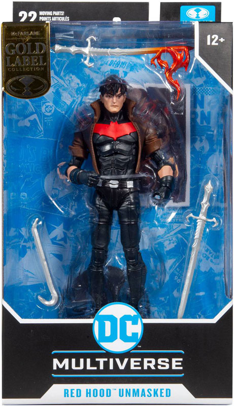 Wholesalers of Dc Multiverse 7in - Red Hood Unmasked toys