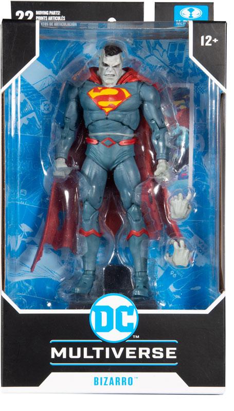 Wholesalers of Dc Multiverse 7in - Superman Bizarro toys