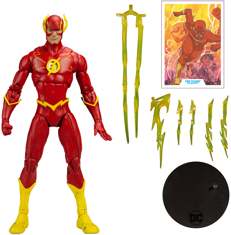 Wholesalers of Dc Multiverse Action - Wv3 - Modern Comic Flash toys