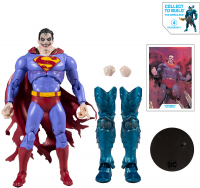 Wholesalers of Dc Multiverse Build-a  Action - Wv2 - Superman Infected toys image