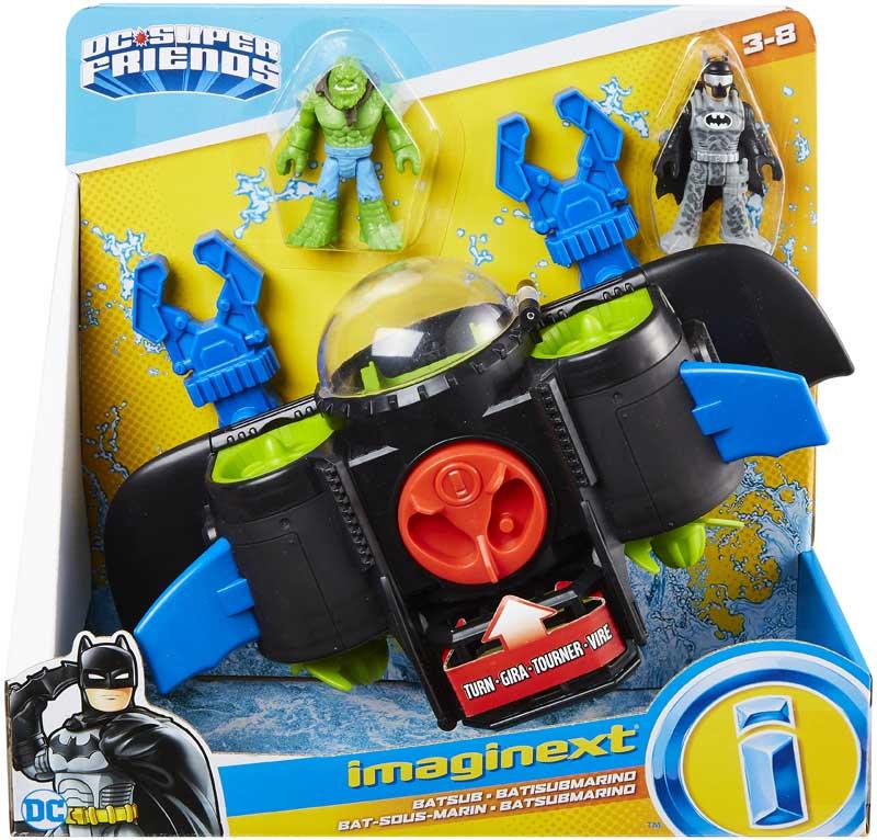 Wholesalers of Dc Super Friends Batsub toys