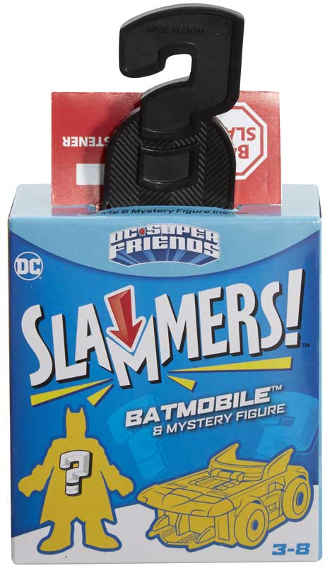 Wholesalers of Dc Super Friends Slammers toys