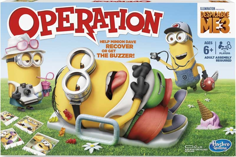 Wholesalers of Despicable Me 3 Operation toys