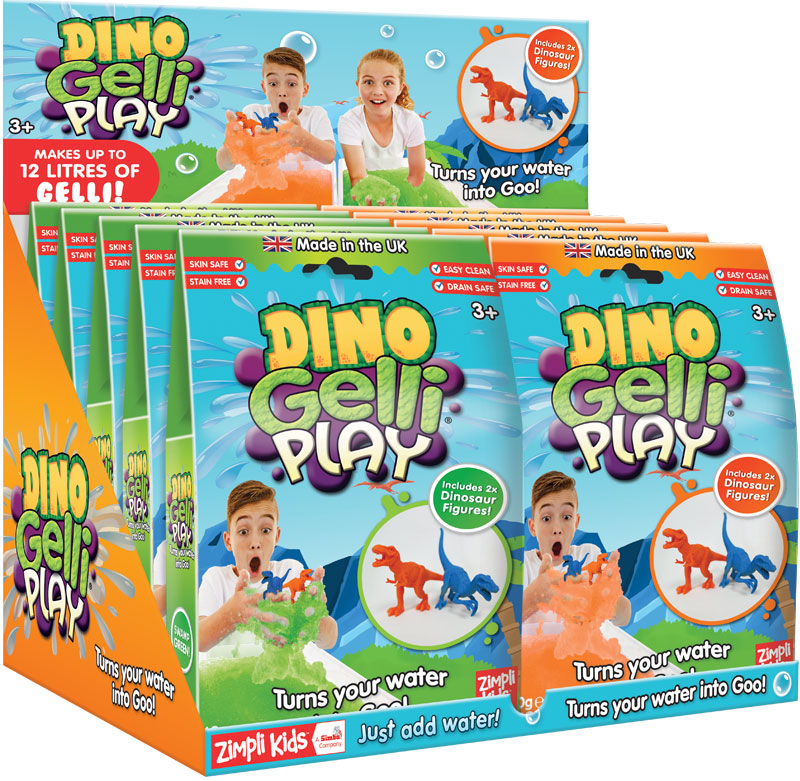 Wholesalers of Dino Gelli Play - 60g toys