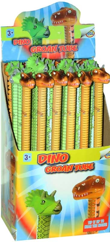 Wholesalers of Dino Groan Tube toys