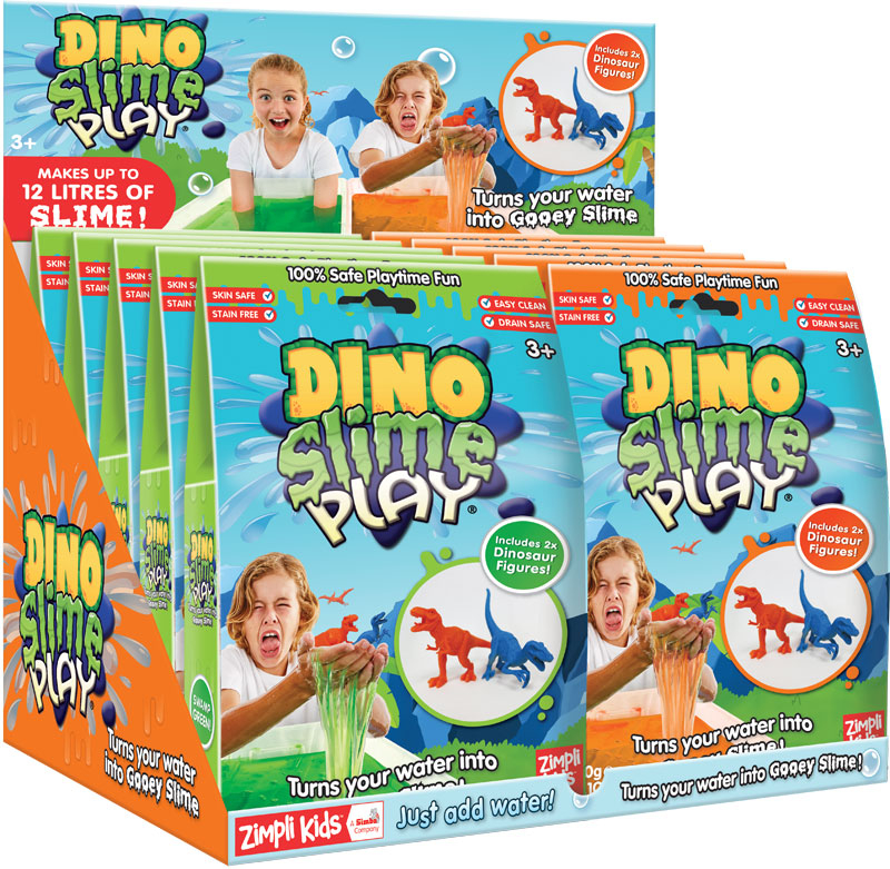 Wholesalers of Dino Slime Play - 60g toys