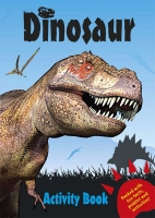 Wholesalers of Dinosaur Activity Book - Blue toys image