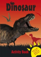 Wholesalers of Dinosaur Activity Book - Red toys image
