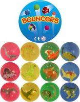 Wholesalers of Dinosaur Bouncers Balls 4 Colours 12 Astd toys image