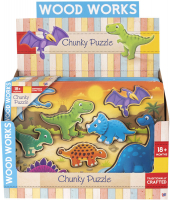 Wholesalers of Dinosaur Chunky Puzzles toys image 2