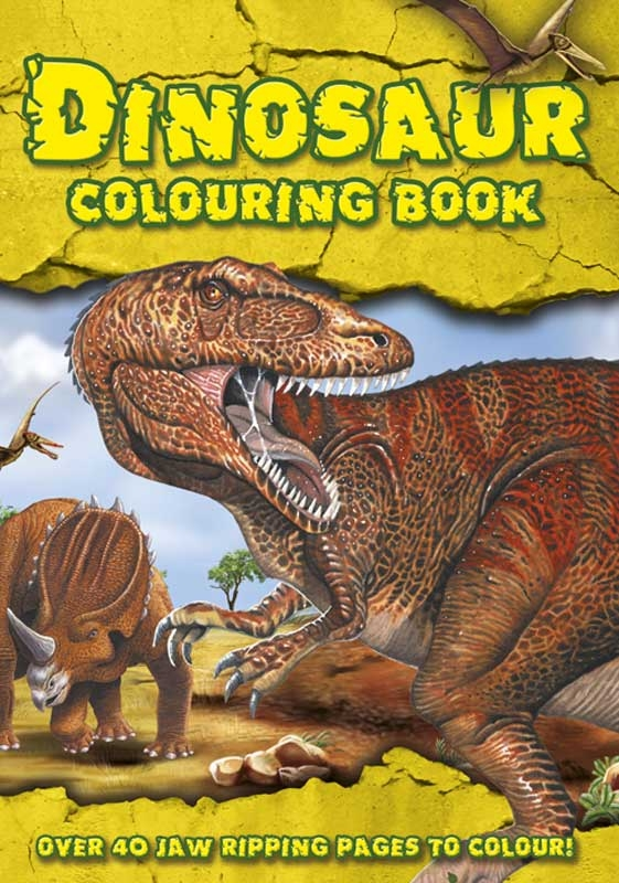 Wholesalers of Dinosaur Colouring Book toys