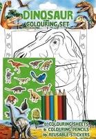 Wholesalers of Dinosaur Colouring Set toys image