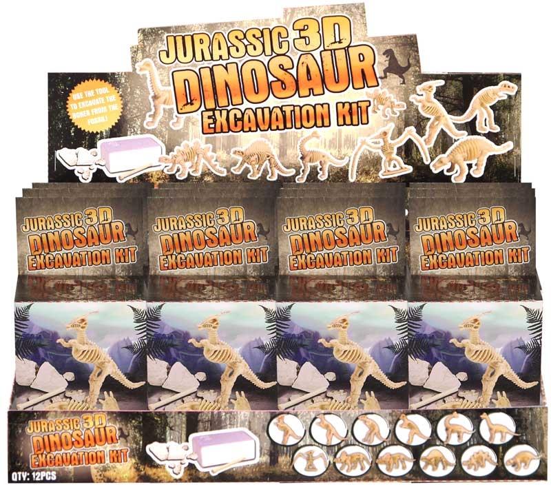 Wholesalers of Dinosaur Digging Set 12 Asst toys
