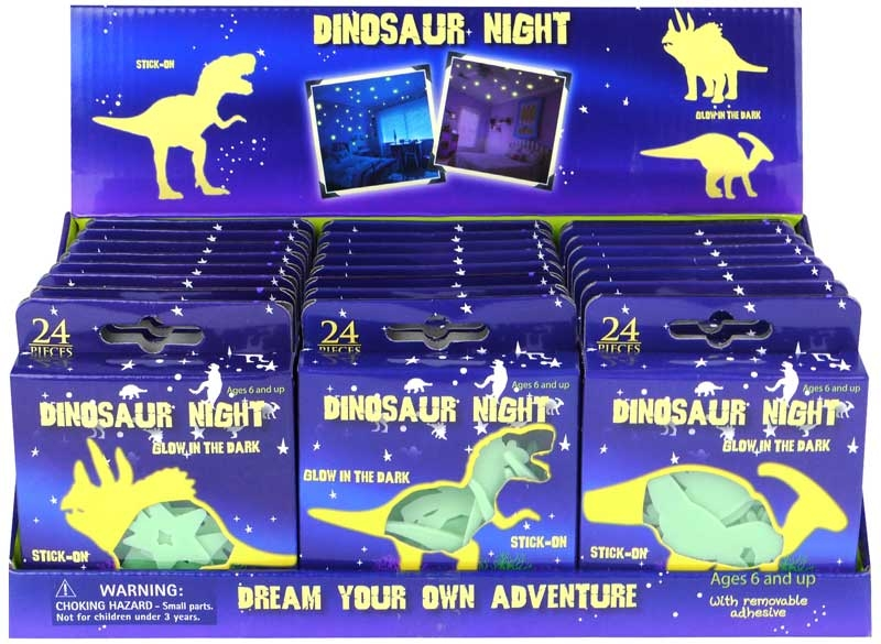 Wholesalers of Dinosaur Glow In The Dark 5-6.5cm toys