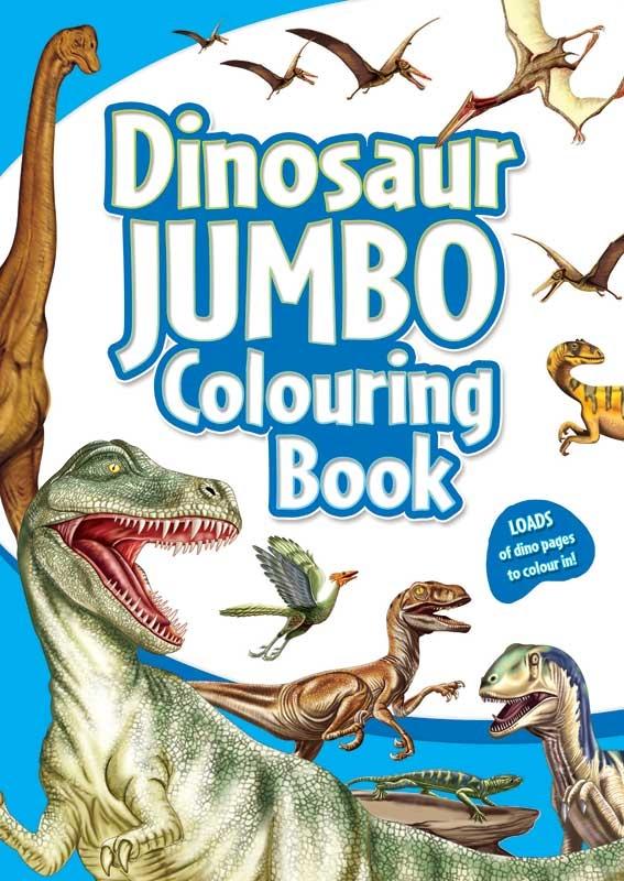 Wholesalers of Dinosaur Jumbo Colouring Book toys
