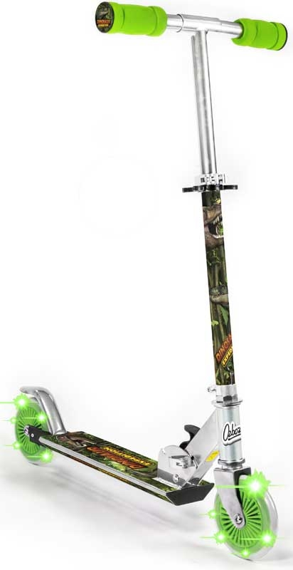 Wholesalers of Dinosaur Scooter With 2 Light Up Wheels toys