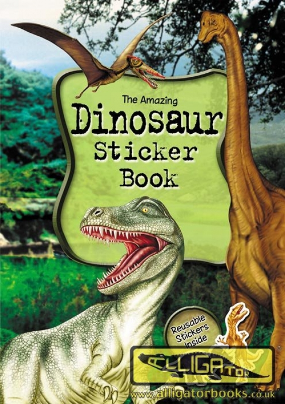 Wholesalers of Dinosaur Sticker Book toys