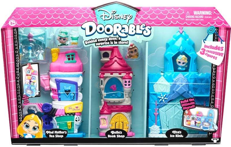 Wholesalers of Disney Doorables Deluxe Display Playsets toys