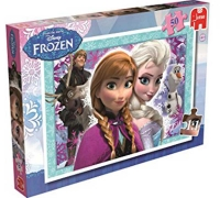 Wholesalers of Disney Frozen 50 Pieces Puzzle toys image