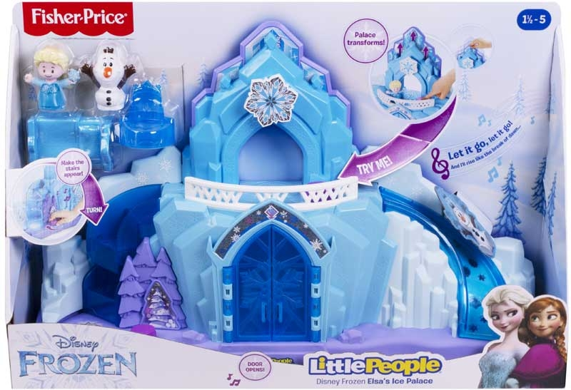 Wholesalers of Disney Frozen Elsas Ice Palace By Little People toys