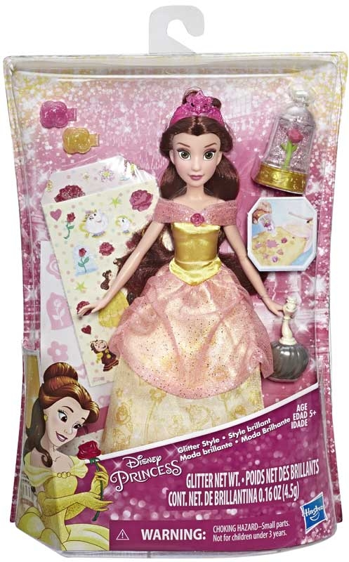 Wholesalers of Disney Glitter Style Belle toys