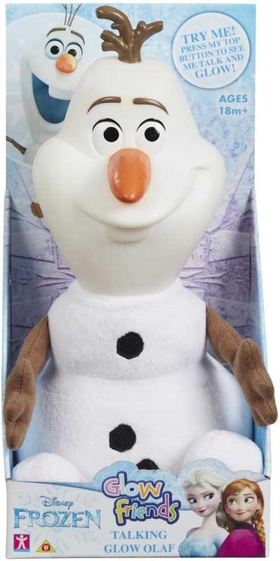 Wholesalers of Disney Glow Friends Talking Olaf Figure toys