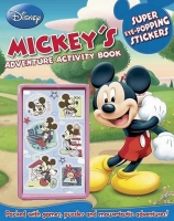 Wholesalers of Disney Mickeys Adventure Activity Book toys image