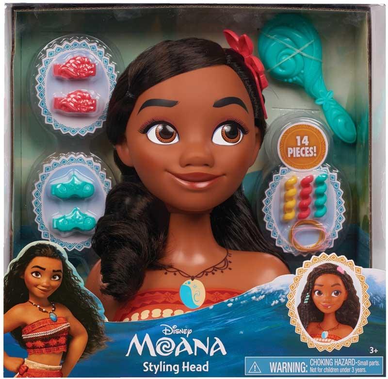 Wholesalers of Disney Moana Styling Head toys
