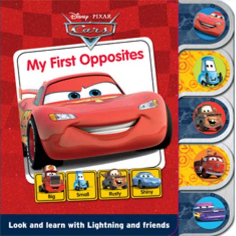 Wholesalers of Disney Pixar Cars - My First Opposites toys