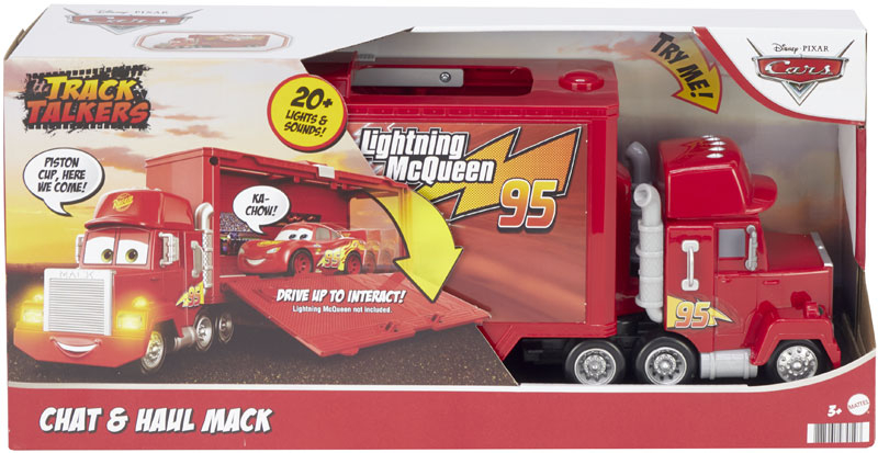 Wholesalers of Disney Pixar Cars Track Talkers Chat And Haul Mack toys