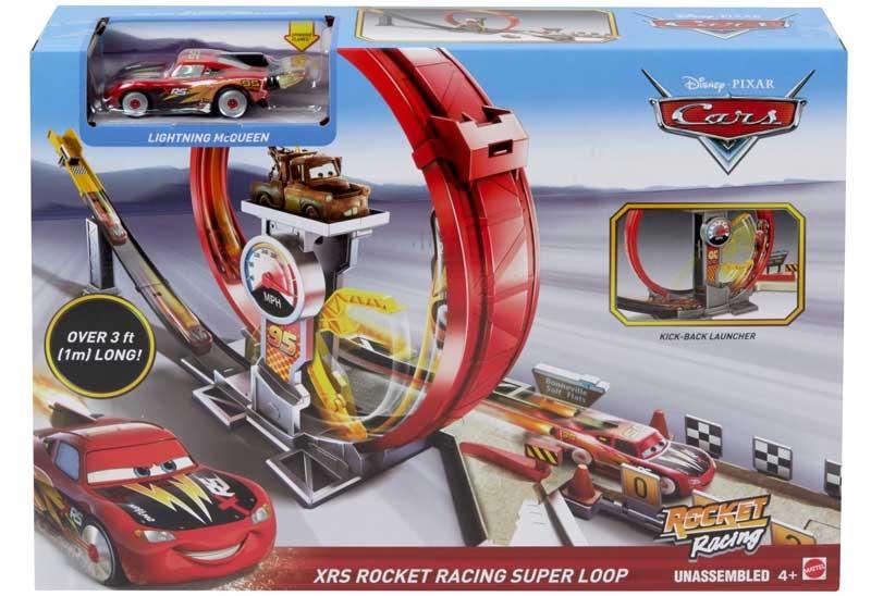 Wholesalers of Disney Pixar Cars Xrs Rocket Racing Super Loop toys