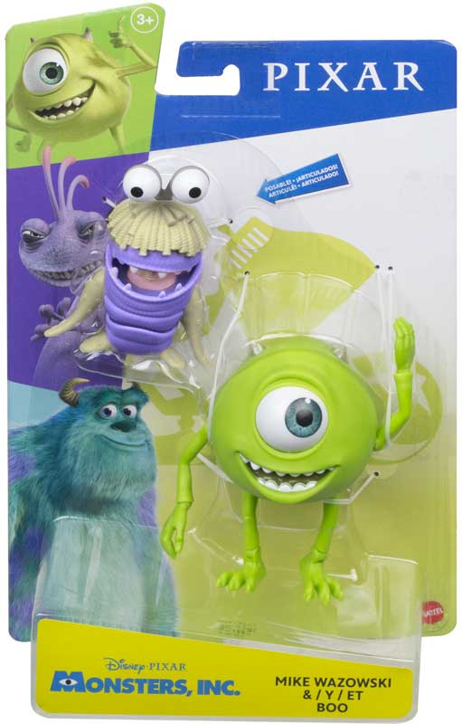 Wholesalers of Disney Pixar Monsters Inc Mike Wazowski & Boo Figures toys