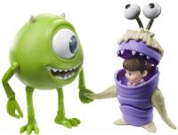 Wholesalers of Disney Pixar Monsters Inc Mike Wazowski & Boo Figures toys image 2